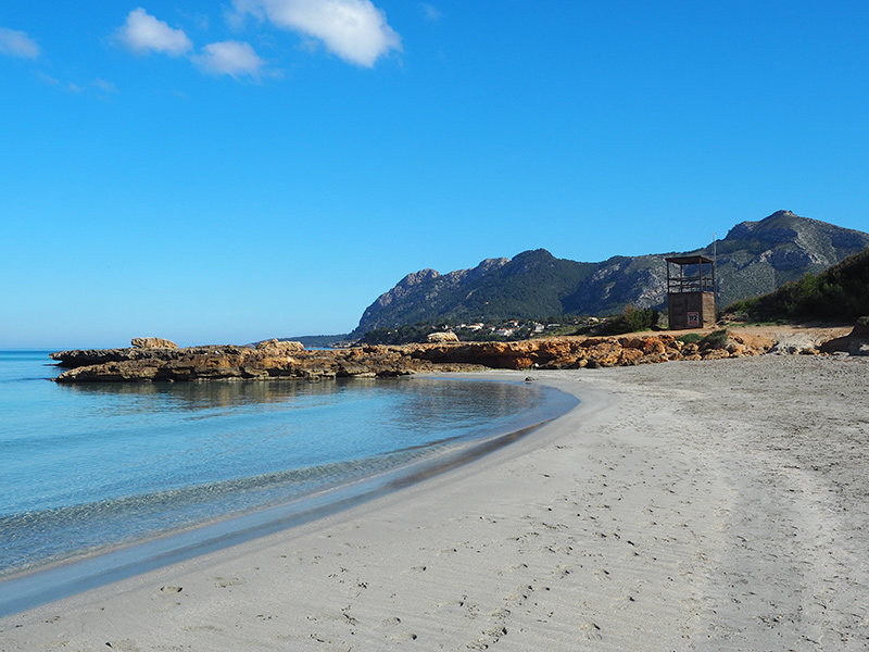 Mallorca - Alcudia, Playa de Sant Joan
