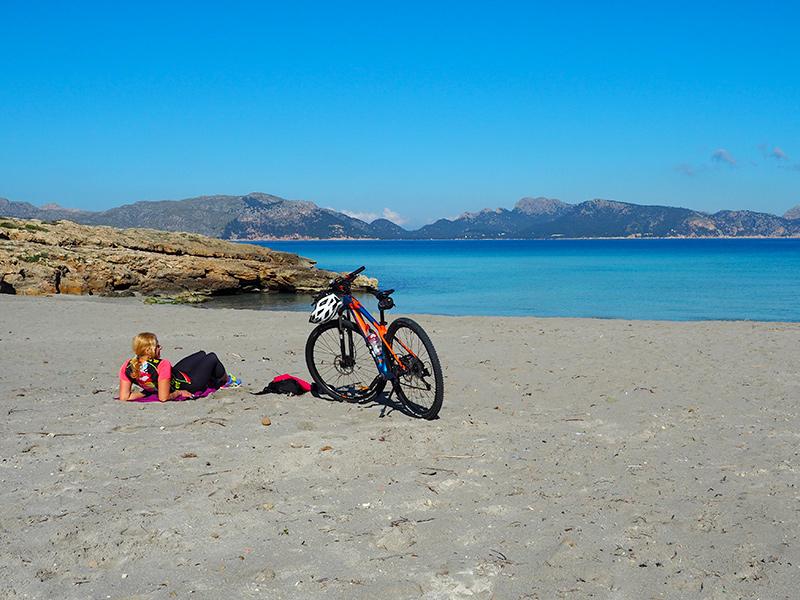 Mallorca - Alcudia, Strand Playa de Sant Pere