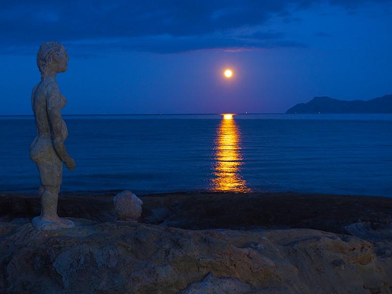 Mallorca - Can Picafort, Riesenmond