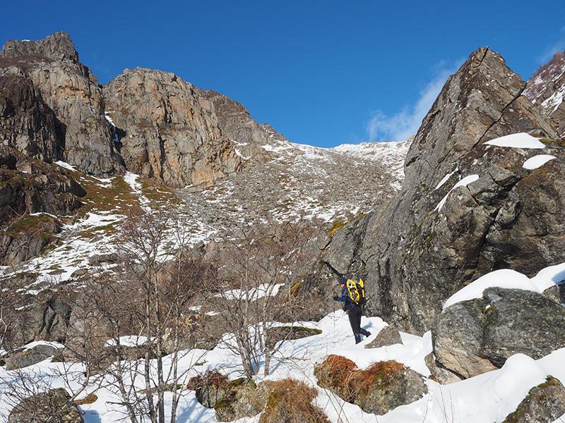 Lofoten - Festvagtinden, Wandern