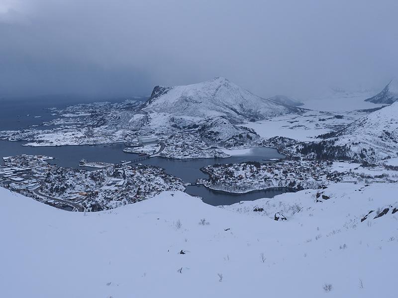 Lofoten - Wandern Floya - Svolvær