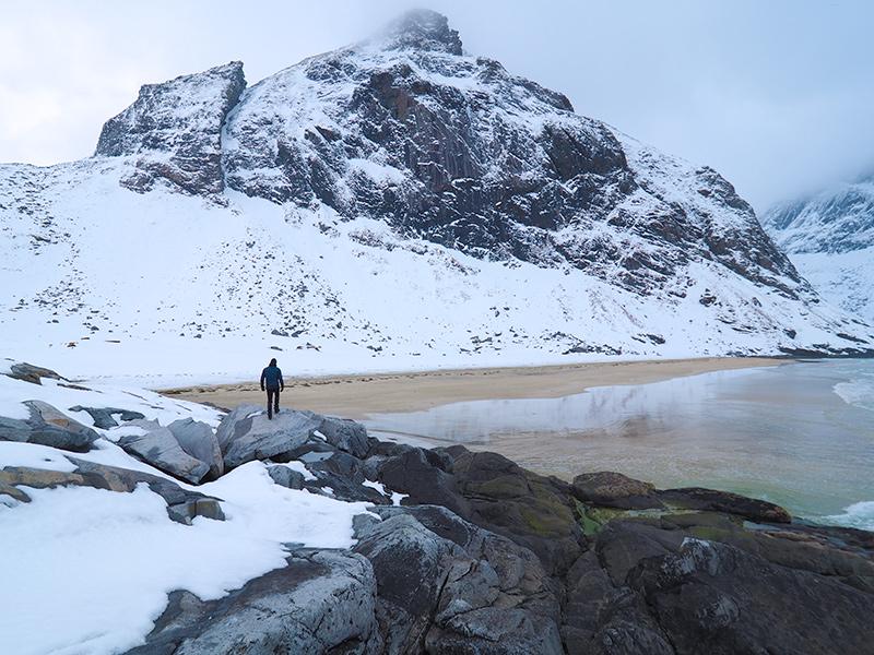 Lofoten - Kvalvika Beach