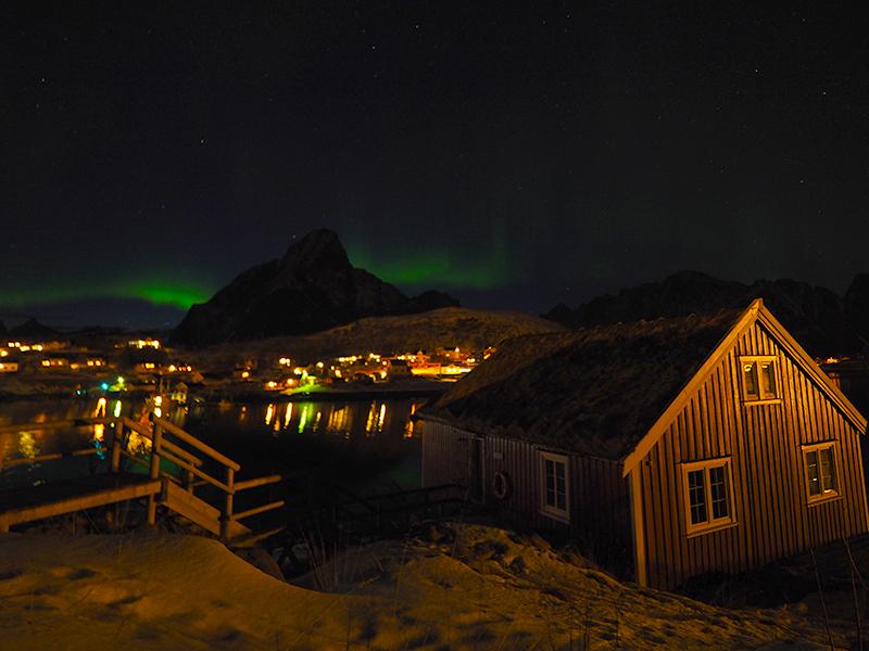 Lofoten - Nordlichter, Reine