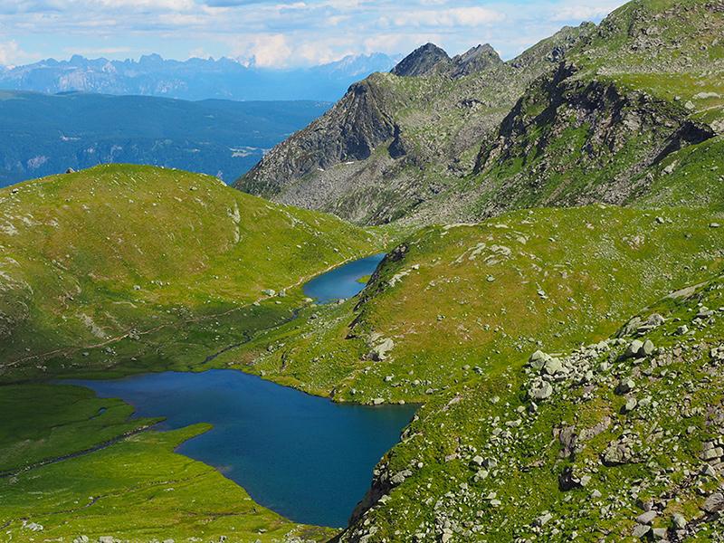 Spronser Seen - Karersee & Pfischersee