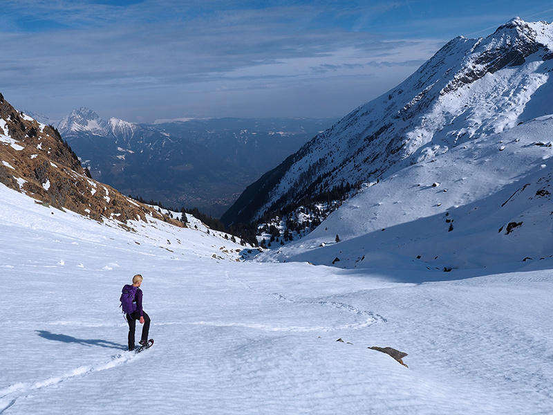 Spronser Seen - Schneeschuhwandern im Winter
