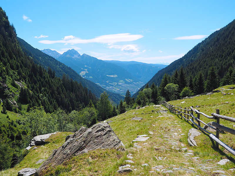 Spronser Seen Wanderweg
