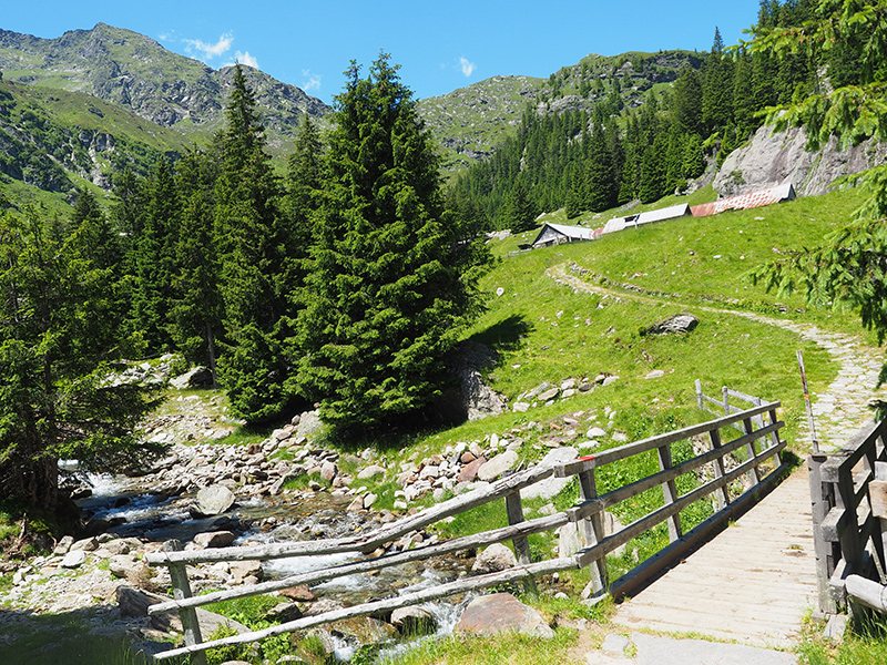 Spronser Seen Wandern - Bockerhütte