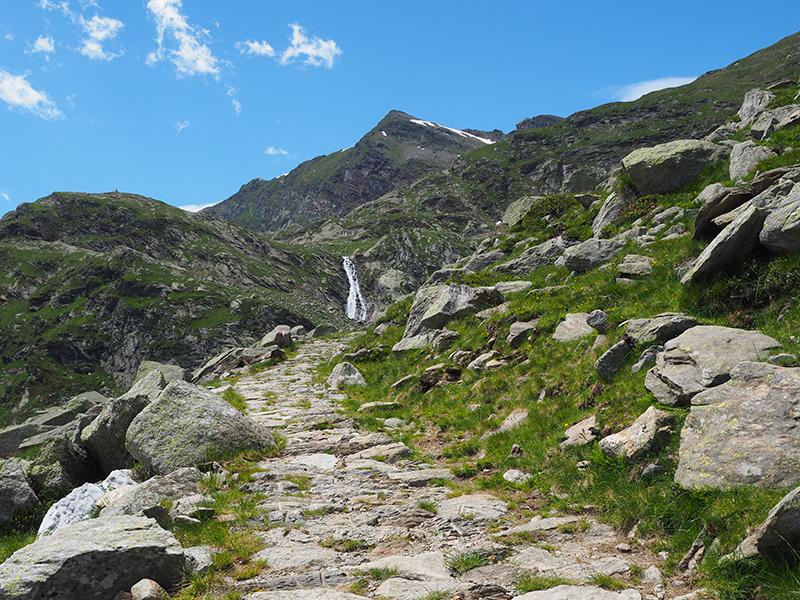 Spronser Seen Wandern - Wanderweg