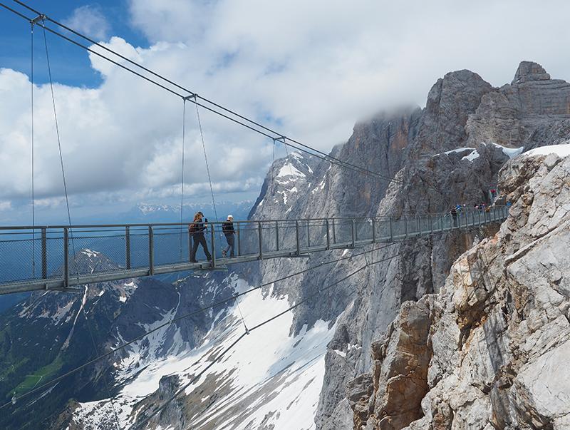 Dachstein Gletscherwelt - Hängebrücke