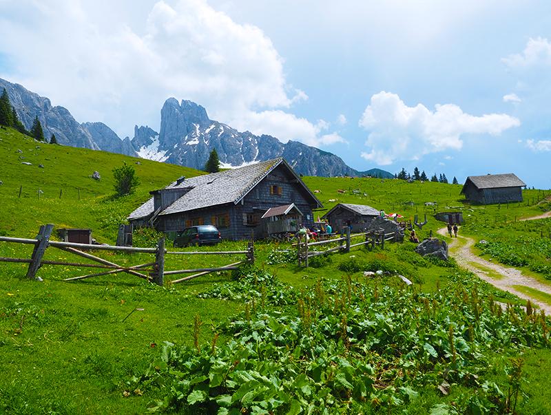 Dachstein-West Wandern Stuhlalm