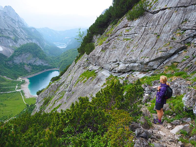 Hinterer Gosausee - Wandern zur Adamekhütte