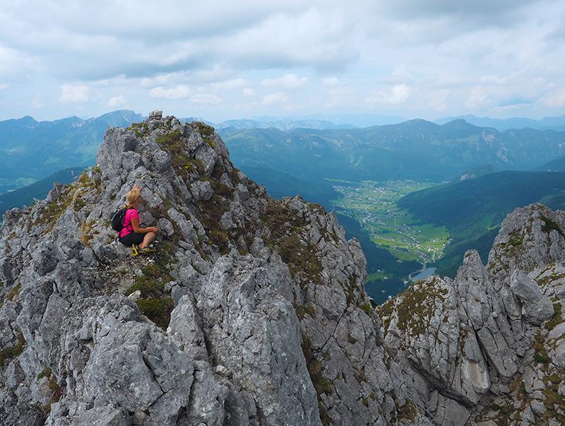 Wandern Dachstein West - Strichkogel