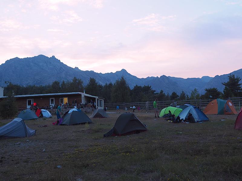 Camping Castellu di Verghio - Korsika