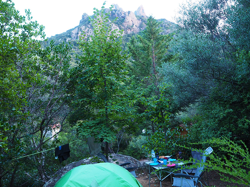 Camping Les Oliviers - Porto, Korsika