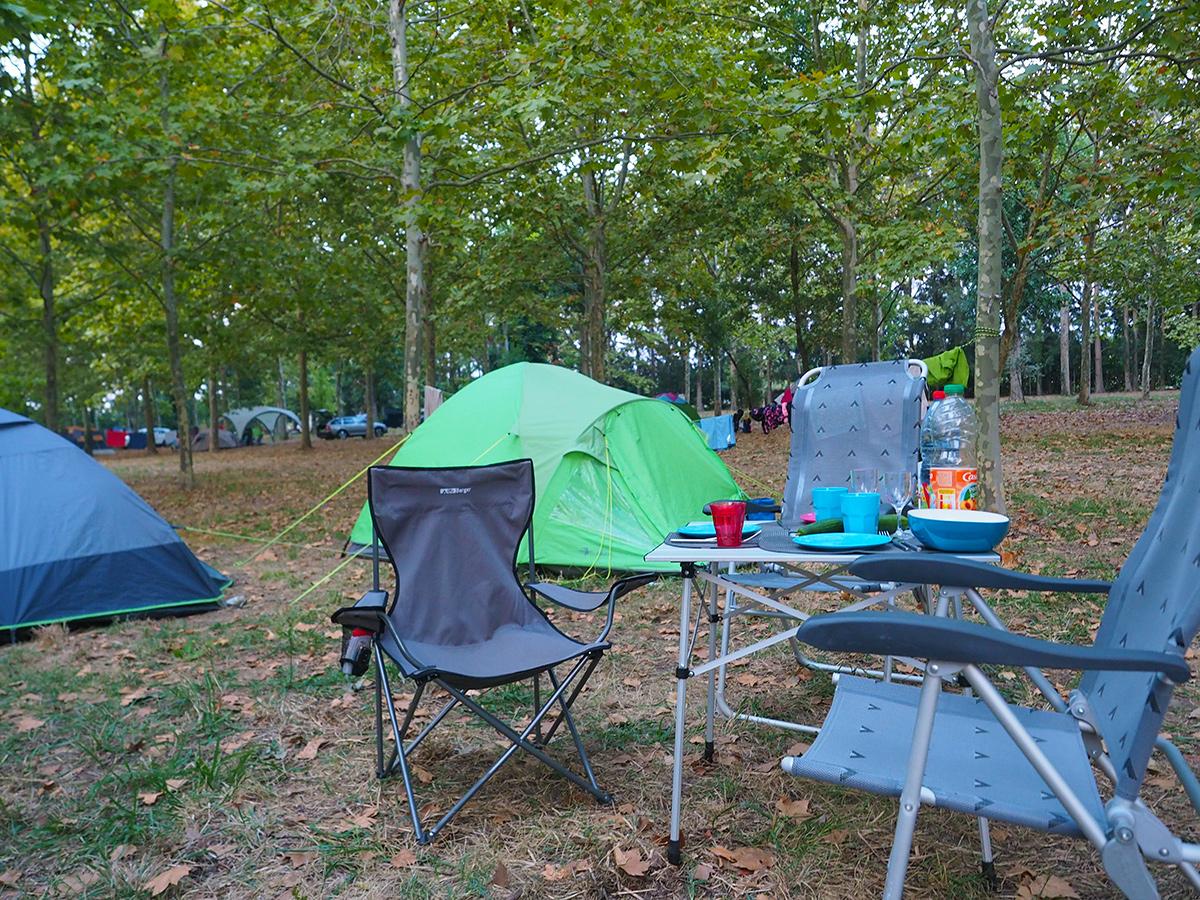 Camping U Casone in Ghisonaccia, Korsika
