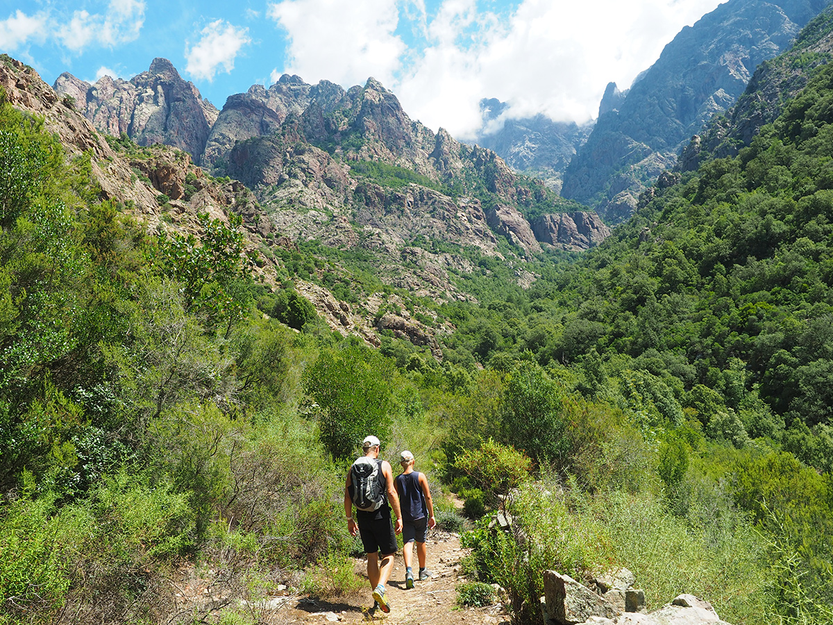 Wandern auf Korsika - Fangotal