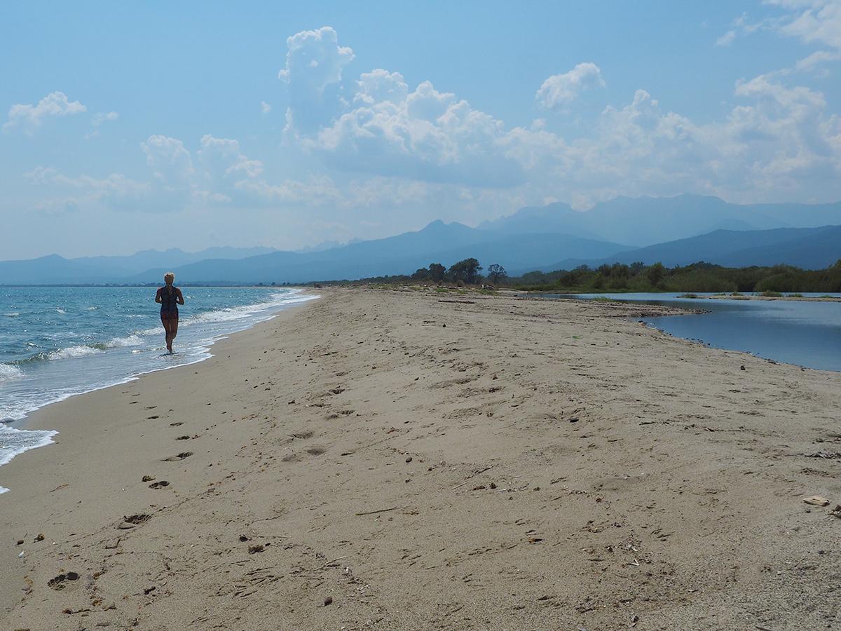 Ghisonaccia - Korsika, Strand