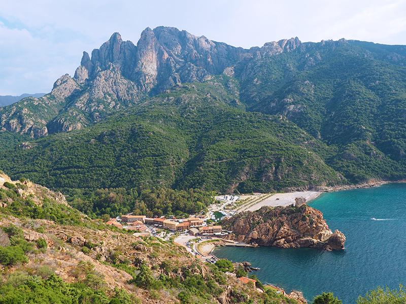 Marina de Porto - Korsika