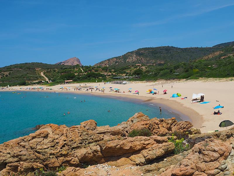 Plage d'Arone - Korsika