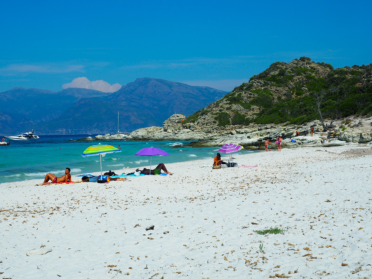 Plage de Lotu - Korsika