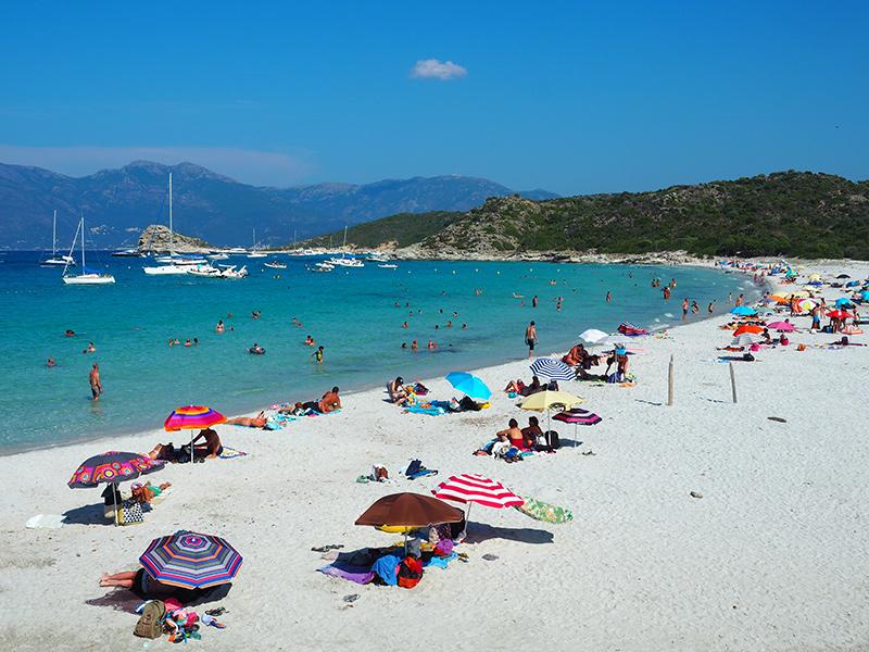 Plage du Lotu - Korsika