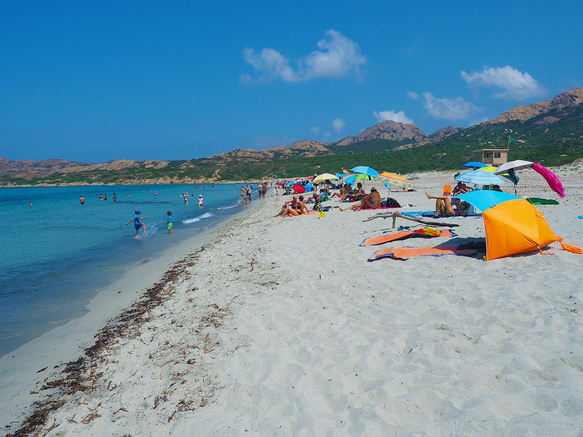 Plage l'Ostriconi - Korsika
