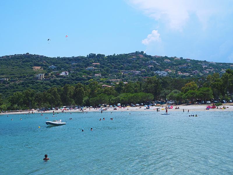 Plage la Roya - Saint Florent, Korsika