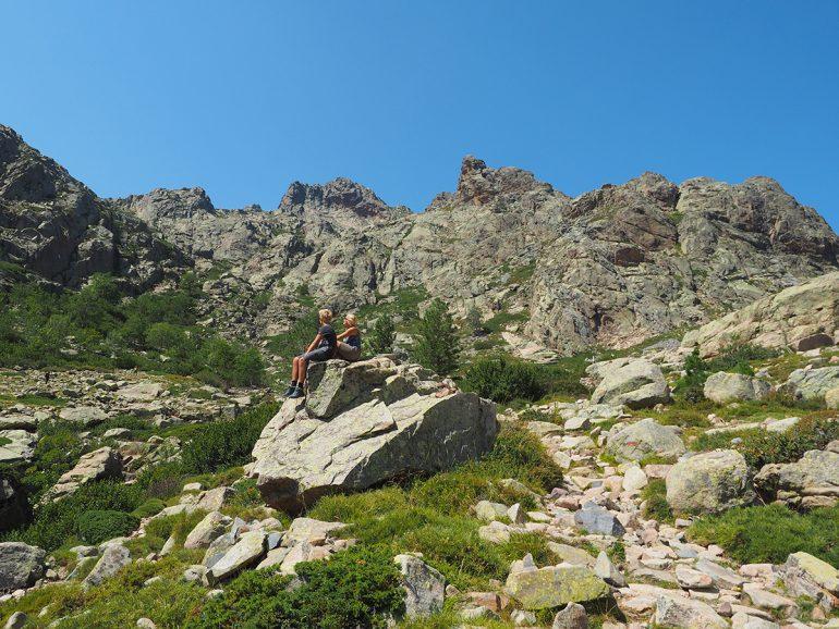 Korsika - Wandern auf dem GR20 zum Refuge Ciuttulu di i Mori