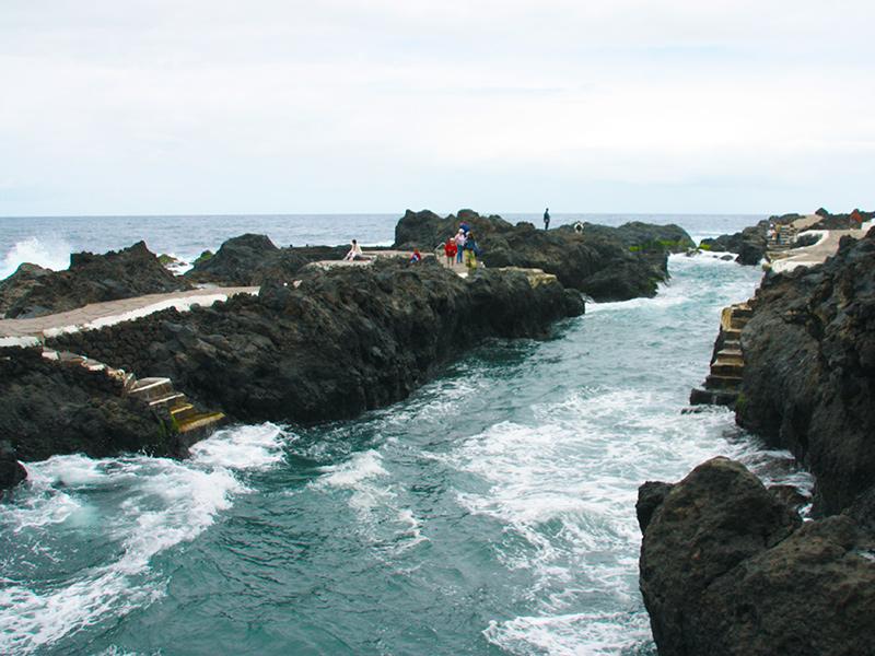 Teneriffa - Garachico, Meerwasserschwimmbecken
