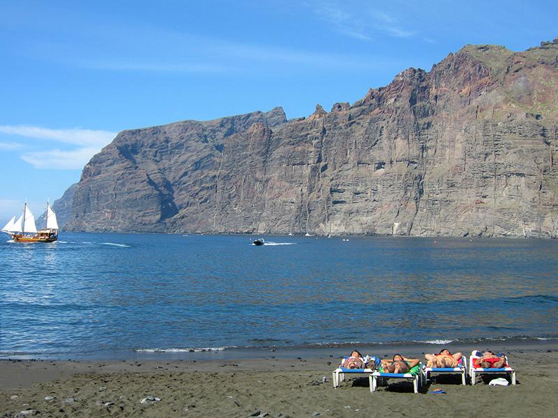 Teneriffa - Los Gigantes Playa de los Guios