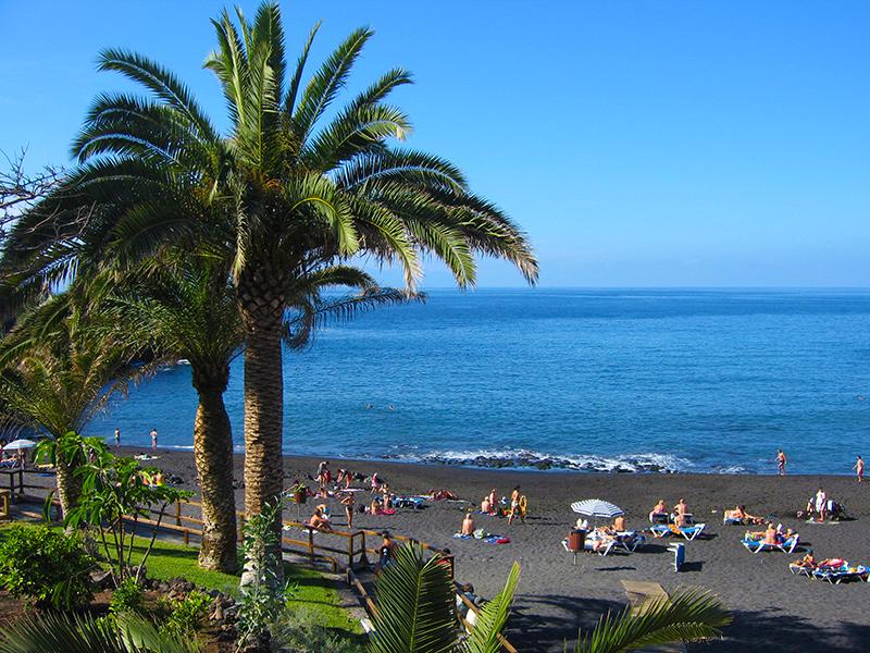 Teneriffa - Playa de la Arena, Strand