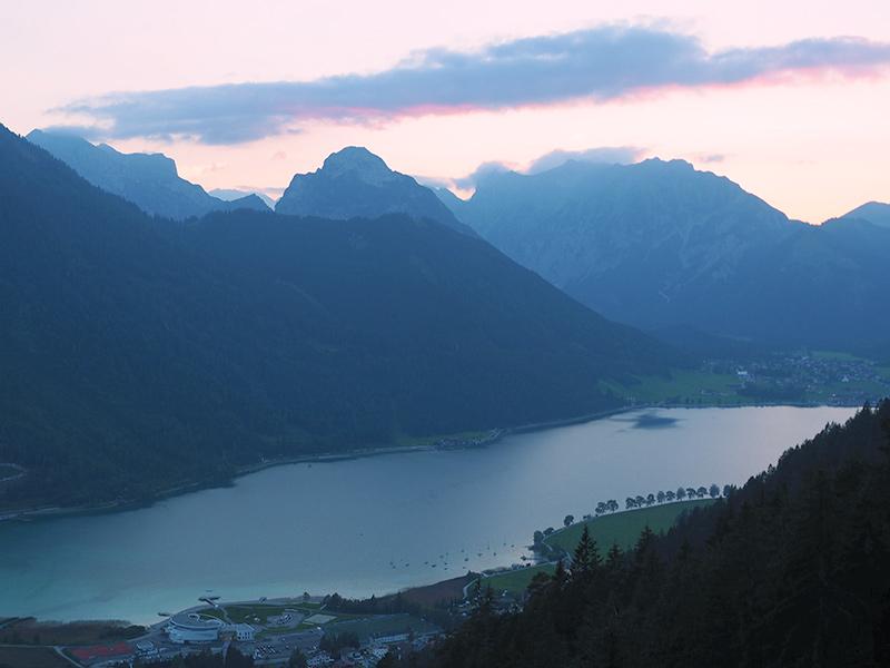 Achensee - Sonnenuntergang