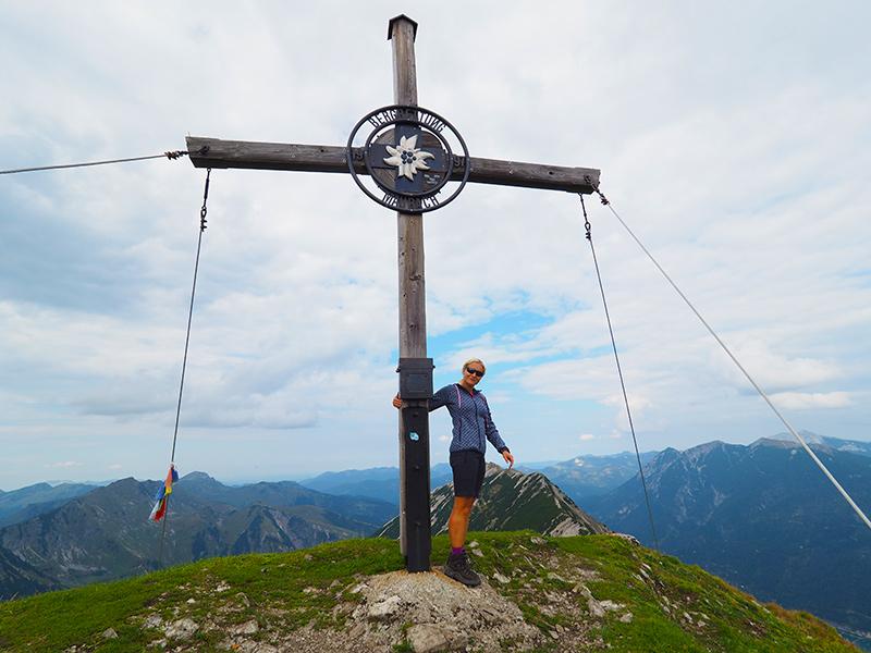 Seebergspitze - Gipfelkreuz