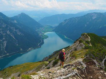 Wandern am Achensee-Seebergspitze