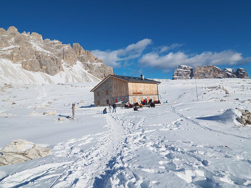 Drei - Zinnen - Lavaredohütte
