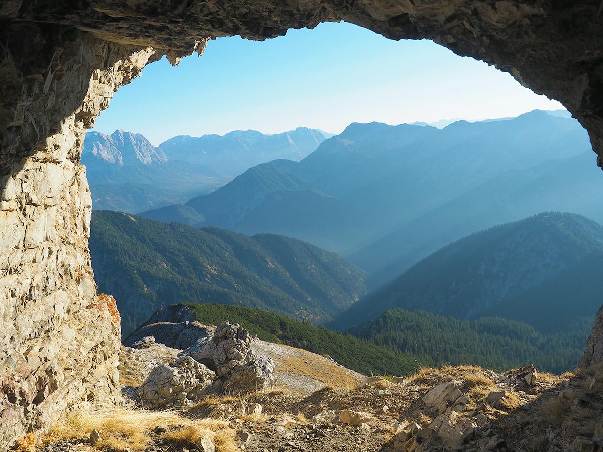 Geierköpfe - Wandern, Höhle