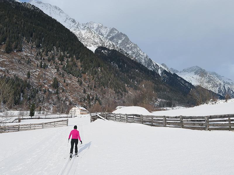 Südtirol - Langlaufen im Antholzer Tal