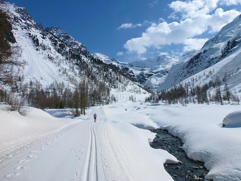 Südtirol - Langlaufen in Sulden