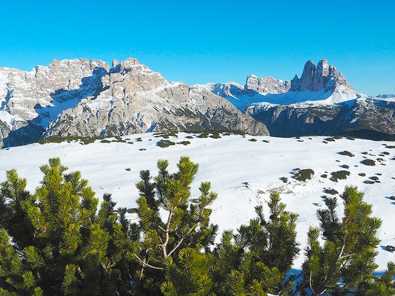 Südtirol - Schneeschuwandern, Strudelkopf