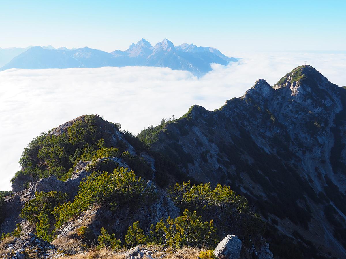 Tauern - Gipfel. Ausblick