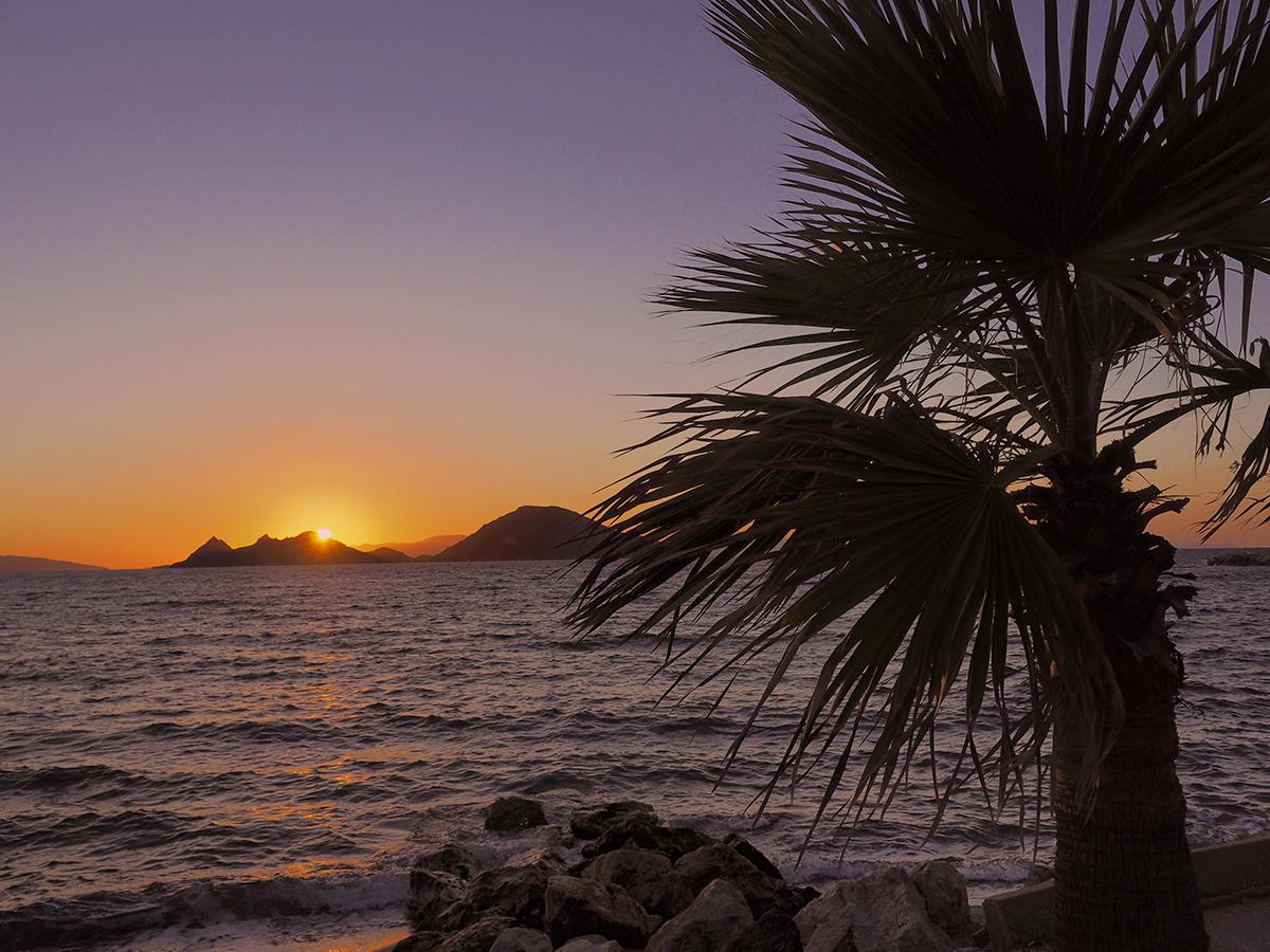 Türkische Ägäis - Sonnenuntergang