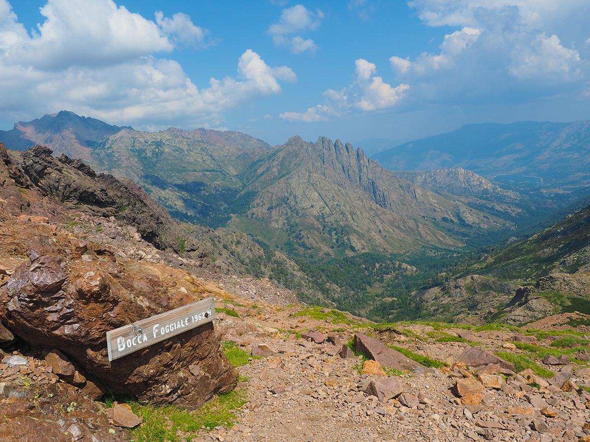 Wandern auf dem GR20 - Bocca di Foggiale, Korsika