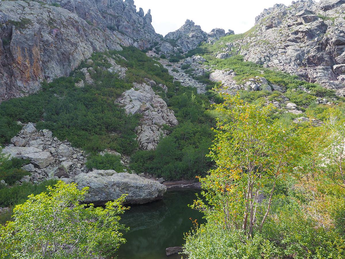 Wandern auf dem GR20 - Lac de la Murvella