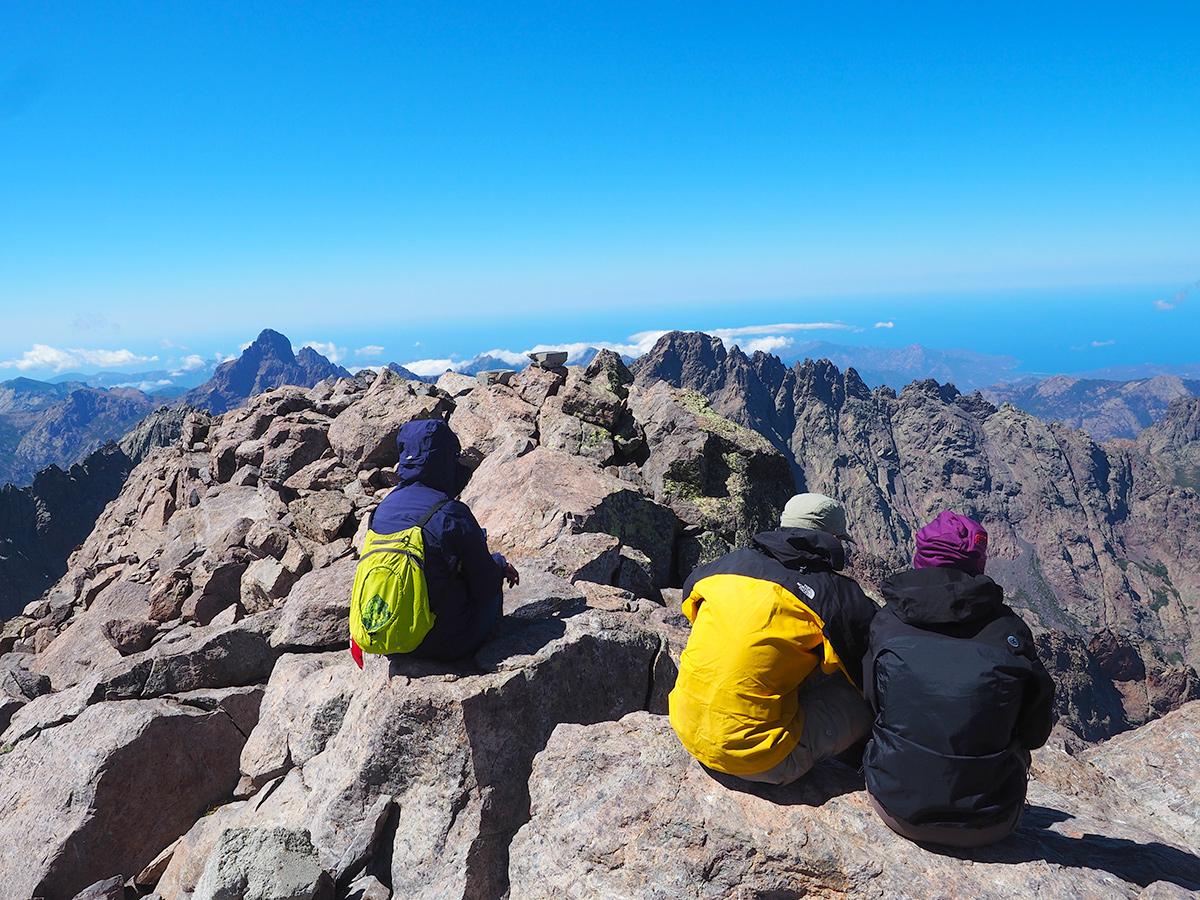 Korsika - GR20, Monte Cinto