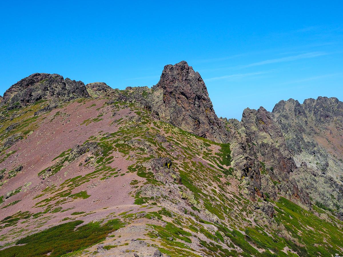 GR20 auf Korsika - Monte Corona