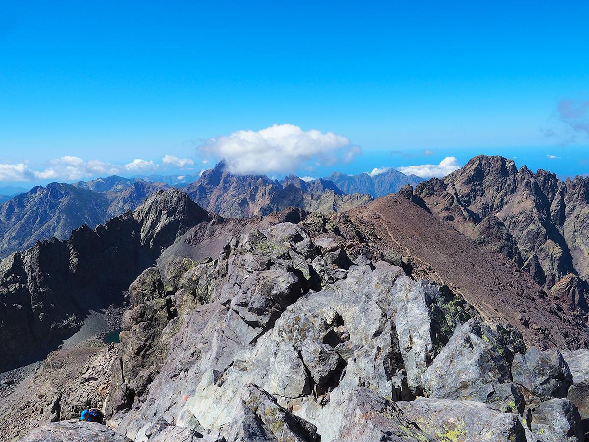 Korsika - Monte Cinto