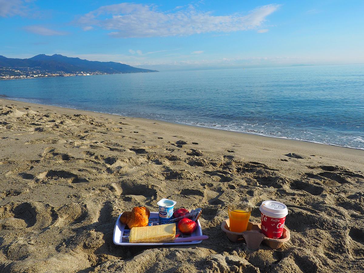 Korsika - Strand südlich Bastia