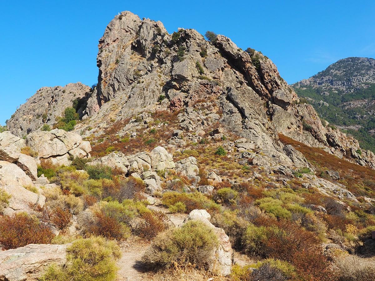 Korsika Wandern auf dem GR20, Celenzana - Refuge d'Ortu di u Piobbu