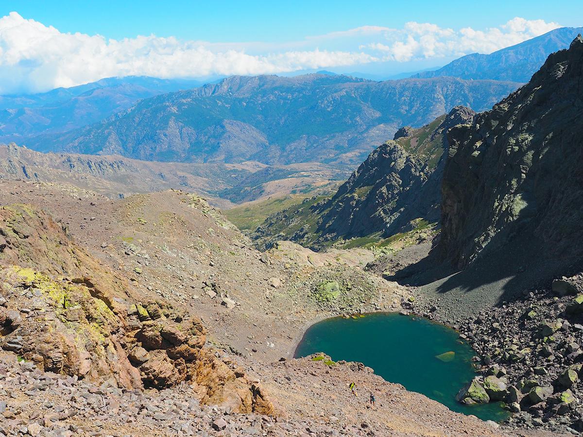 Wandern auf Korsika auf dem GR20 - Lac du Cinto