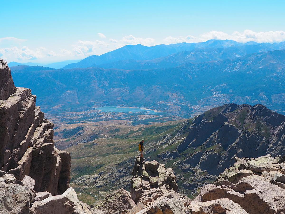 Wandern auf den Monte Cinto - Korsika